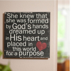of things holding you back from completely living in God's purpose ...
