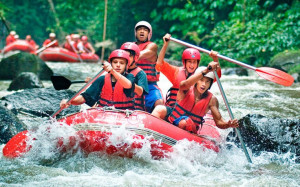 Bali Funny Ayung White Water Rafting 04