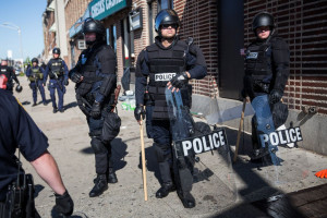 Dramatic Images From Baltimore Unrest Photos | Image #12 - ABC News