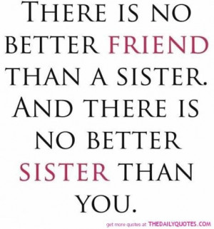 Sister love quotes and sayings