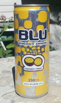 Blu Energy Drink Passion Fruit