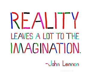 Reality quotes, awesome, best, sayings, john lennon