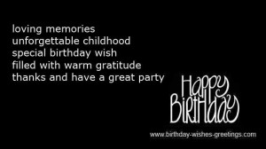 birthday quotes for mom happy birthday pin it birthday poems for son ...