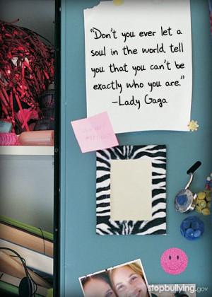 stopbullying #teens #lady gaga #adversity #quote #inspiration # ...