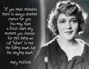 Mary Pickford quote