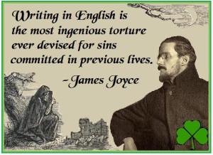 James Joyce an Irish poet