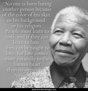Famous quotes from nelson mandela