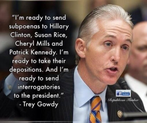 Powerful interview with Republican Congressman, Trey Gowdy #Benghazi ...