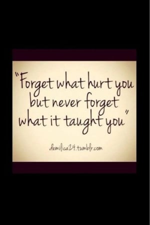 Chya, I'll forgive but never forget what you did. I have a right to ...
