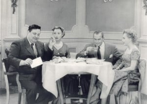 ... Jackie Gleason, Art Carney and Audrey Meadows in The Honeymooners