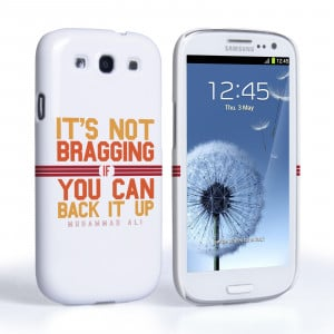 ... Quote Cases / Caseflex Samsung Galaxy S3 Muhammad Ali Quote Case