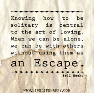 Escape by Bell Hooks