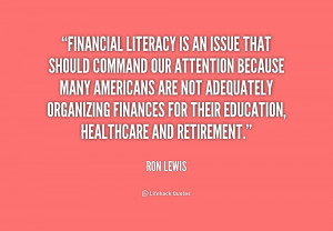 Quotes About Financial Literacy
