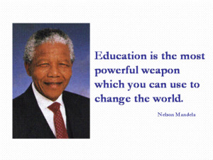 ... famous quote prevention education is the most powerful weapon which