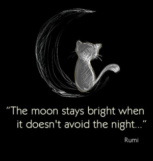 RUMI ~ Quotes ~ Verse ~ Moon ~ Life