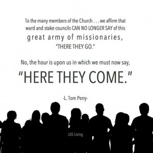 ... Church members and leadership. *From our friends at Lds Living #