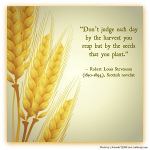 Planting Seeds Quotes