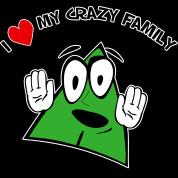 Love My Crazy Family T-Shirt | Spreadshirt | ID: 9409689