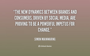 The new dynamics between brands and consumers, driven by social media ...