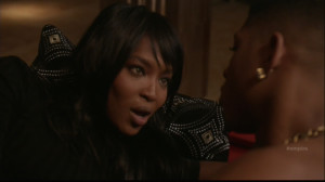 Naomi Campbell Played a Cougar on Last Night's Empire