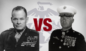 Chesty Puller Chuck Norris Ultimate marine (puller vs