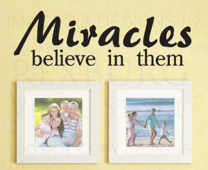 ... -Quote-Sticker-Vinyl-Art-Lettering-Saying-Miracles-Religious-God-R9