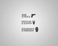 1984 George Orwell Newspeak Quotes