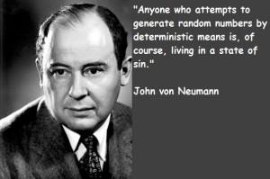 John von neumann famous quotes 2