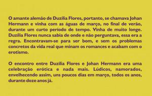 Trecho na contracapa do romance O amante alemão , de Lélia Almeida ...