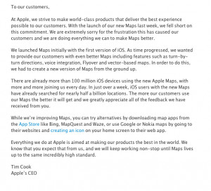 How well is Apple handling its Maps fiasco?