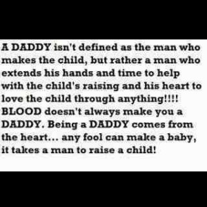 so glad I found my baby girl a daddy that she can be proud of but most ...