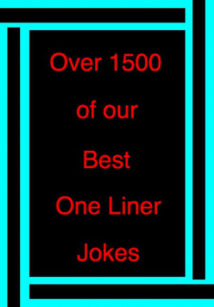 Best One Liner Jokes - 1500+ funny one liners and quotes from ...