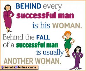woman success quotes status update