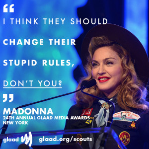 Video: Ohio mom Jennifer Tyrrell, Madonna speak out against Scouts Ban ...