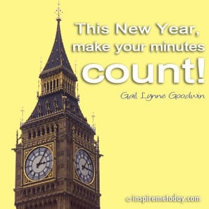 This New Year, make your minutes count!