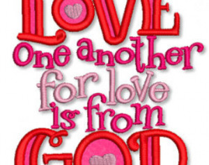 ... svg Machine Embroidery Design valentine christian INSTANT Download