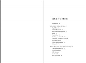 Breaking Bread in Galilee Table of Contents