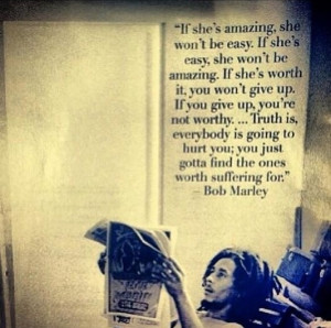 Bob Marley quote on women
