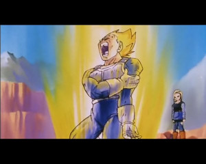 Vegeta broken arm by 18 by Danutz90