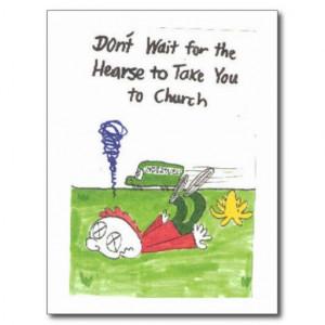 Humorous Church Quotes