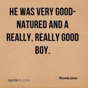 Good Natured Quotes