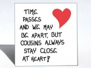 Cousin Quotes Cousin magnet quote