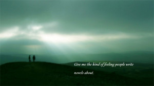 landscapes text quotes grass hills wallpaper background