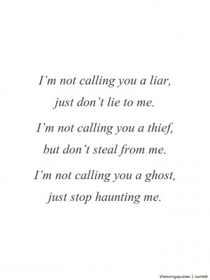 Florence & The Machine, I'm Not Calling You A Liar.LISTEN TO AUDIO ...