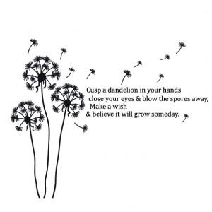 Dandelion Quote