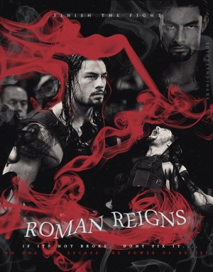 Roman Reigns updated his profile picture: