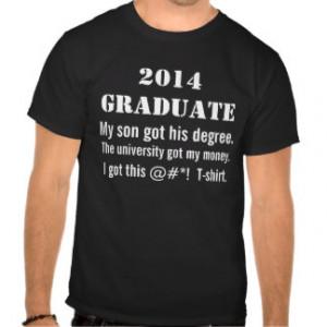 Class Of 2014 Shirt Sayings Funny university class of 2014