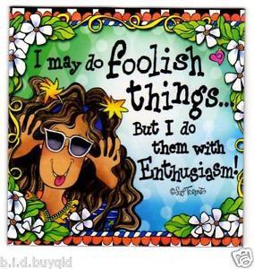 ... about Fridge Magnet Suzy Toronto Inspirational Quote Enthusiasm