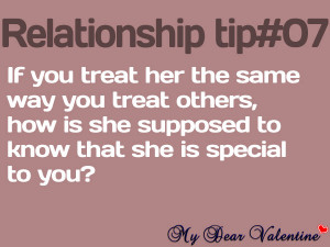 Love quotes for her - If you treat her the