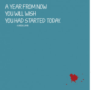start today quote